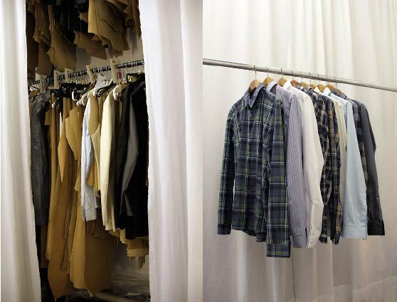 Hemden Produktion und fertig